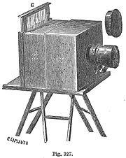 Daguerreotypie-Kamera