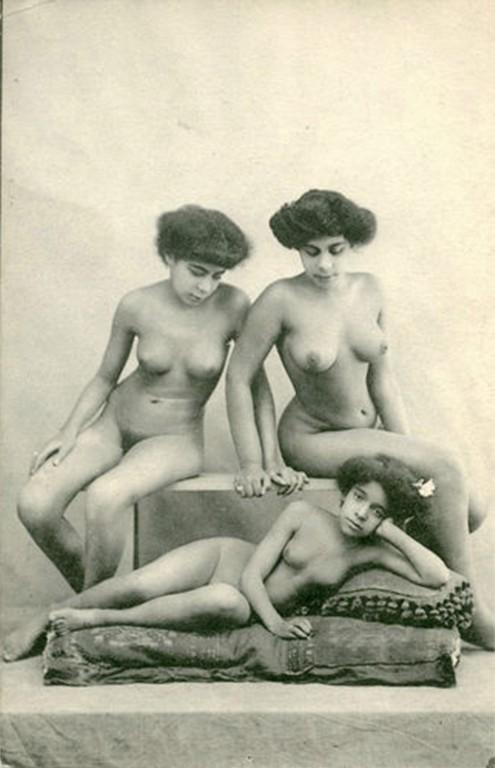 EPK 1910 Drei Nordafrikanerinnen