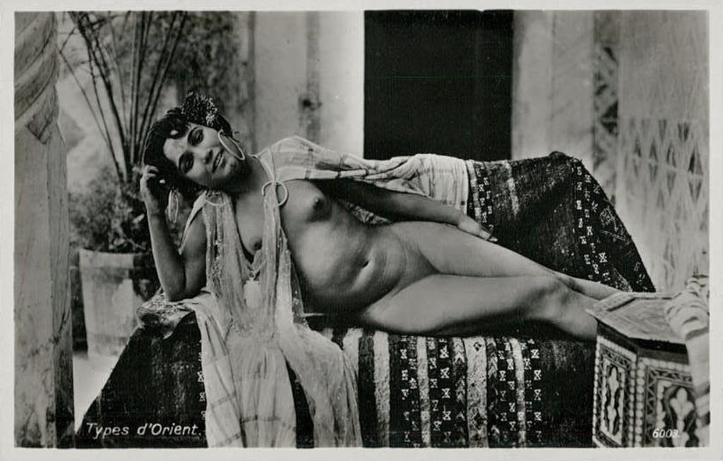 PK 1910 LL north Africa Arab nude